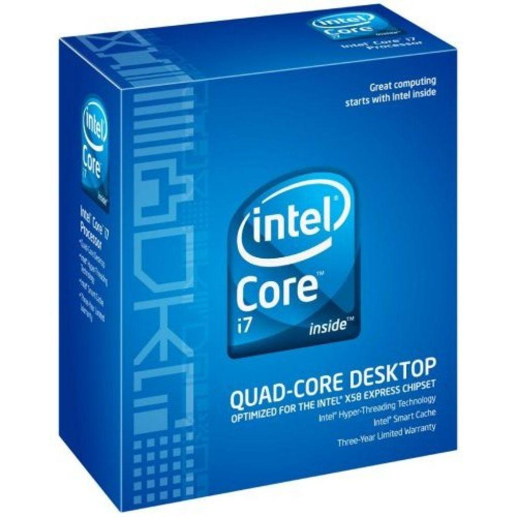 Intel Core i7 920 2.66GHz 8M L3 Cache 4.8GT/sec QPI Hyper-Threading Turbo Boost LGA1366